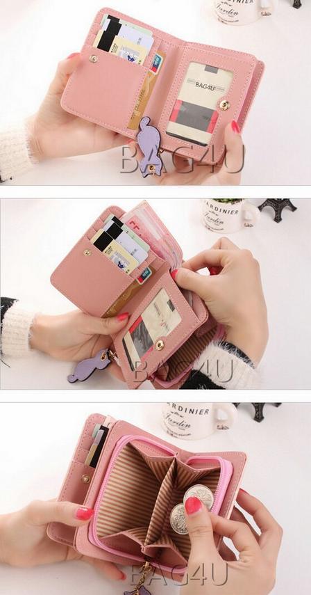 Новый кошелёк на застёжке для женщин - 3