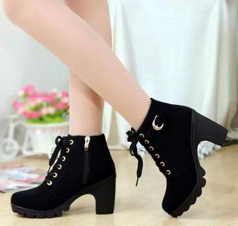 Европейские ботинки для женщин - 5