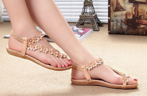 Новые открытые сандалии для женщин  - 1