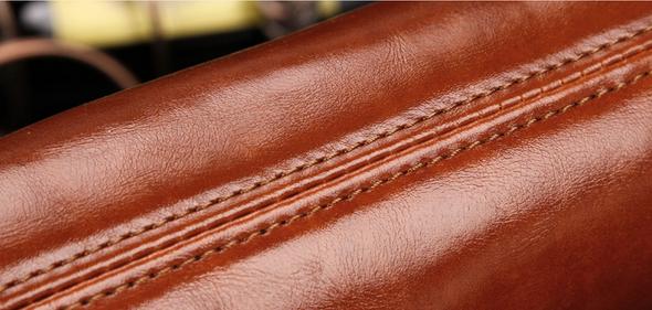 Модная брендовая сумка через плечо для мужчин  - 12