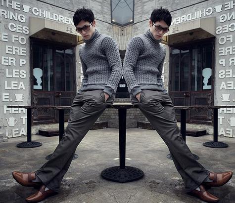 Весна очень, мужские брендовые брюки   - 1