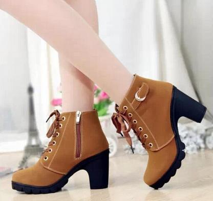 Европейские ботинки для женщин - 2