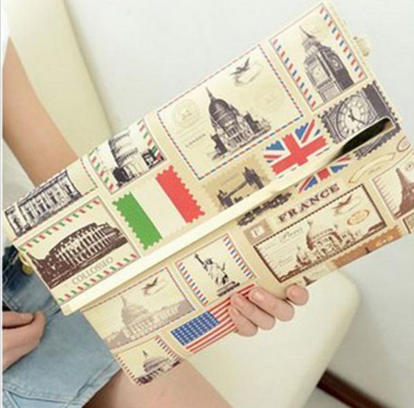 Британский флаг клатчи для женщин - 4