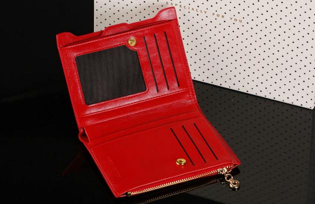 Модный тонкий кошелёк для женщин  - 6