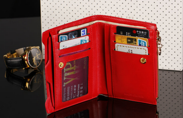 Модный тонкий кошелёк для женщин  - 2