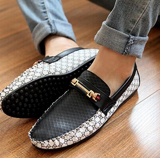 Свободные удобные туфли для мужчин - 4