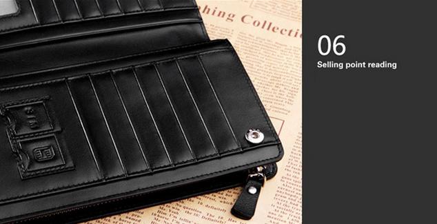 Стильный кошелёк для мужчин - 12