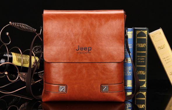 Модная брендовая сумка через плечо для мужчин  - 7