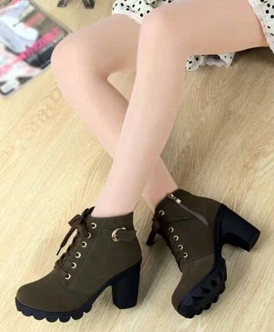 Европейские ботинки для женщин - 4