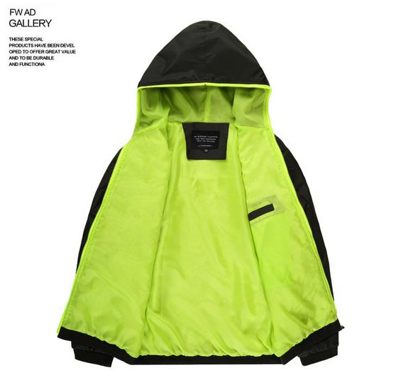 Весна осень, тонкая модная куртка  - 2