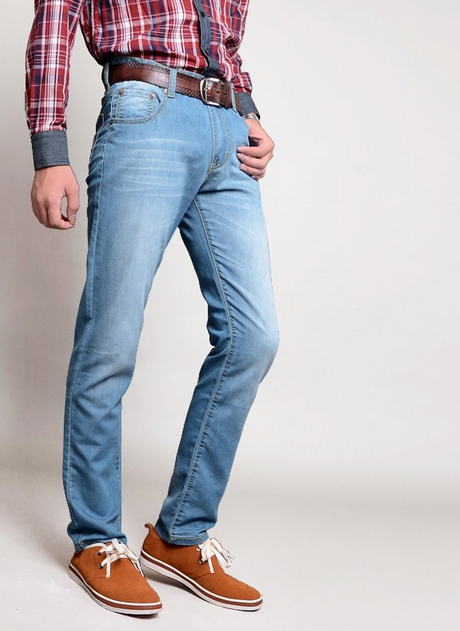 Мужские свободные джинсы  - 2