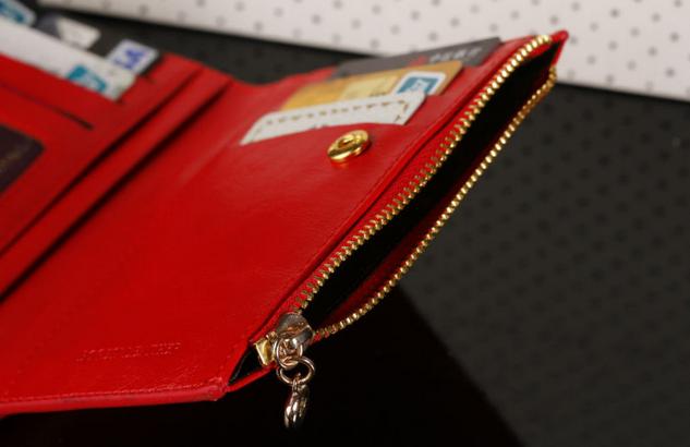 Модный тонкий кошелёк для женщин  - 5