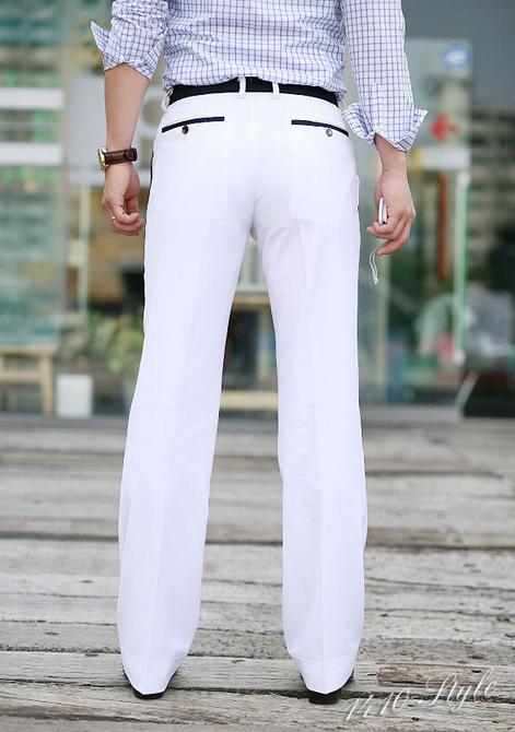Мужские свободные брюки  - 6