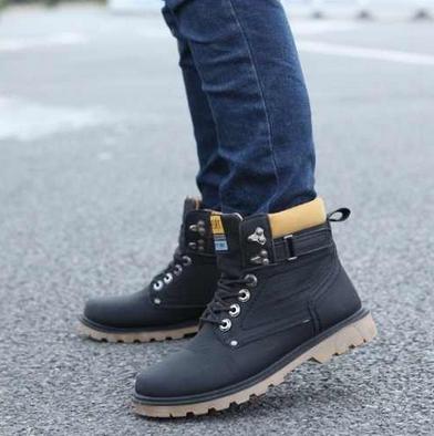 Модные мужские ботинки  - 3
