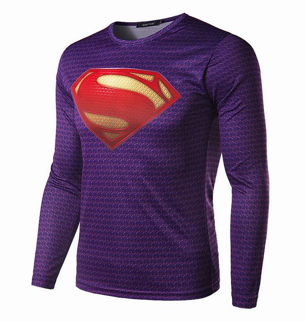 Новая футболка супермена для мужчин - 1