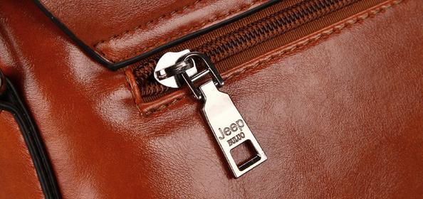 Модная брендовая сумка через плечо для мужчин  - 11