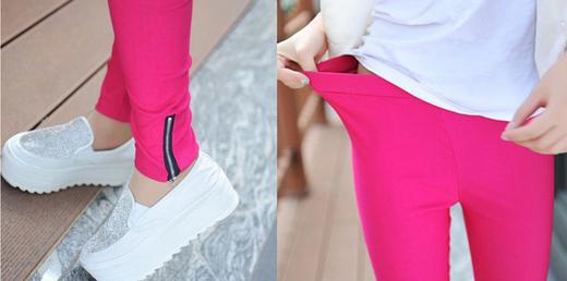 Новые брюки на молнии для женщин  - 6