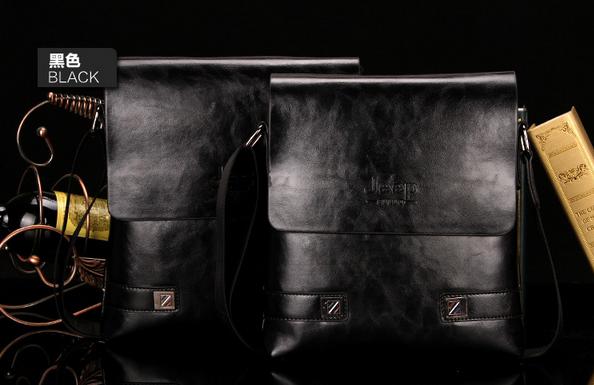 Модная брендовая сумка через плечо для мужчин  - 5