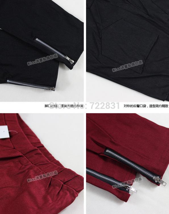 Новые брюки на молнии для женщин  - 5