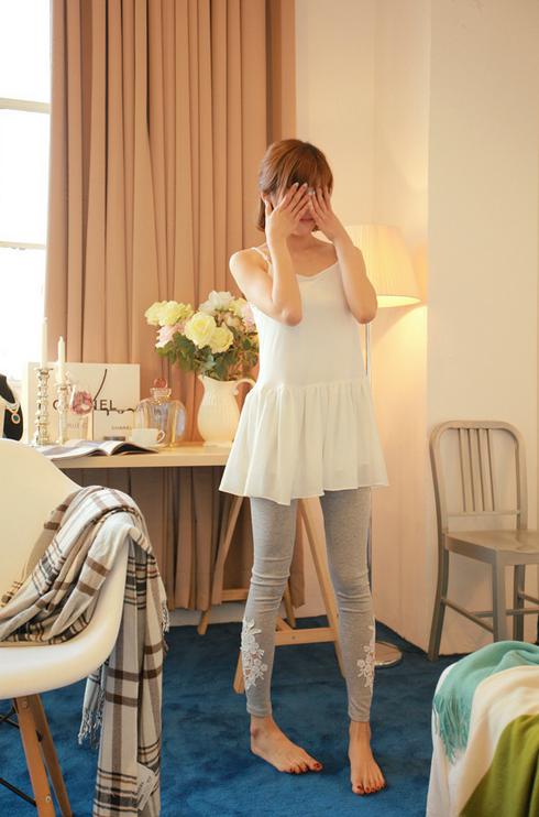 Летние тонкие кружевные брюки для женщин - 5