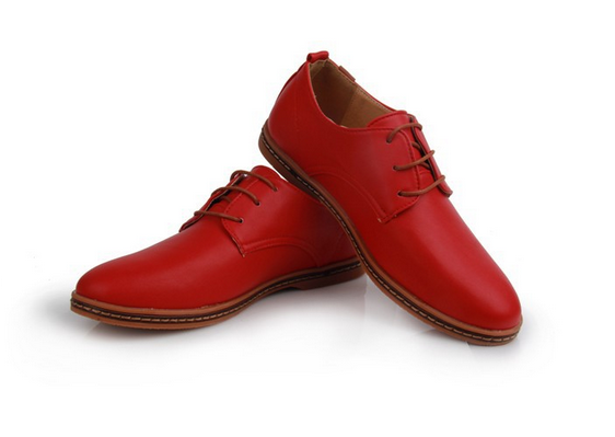 Модные кожанные туфли для мужчин  - 2