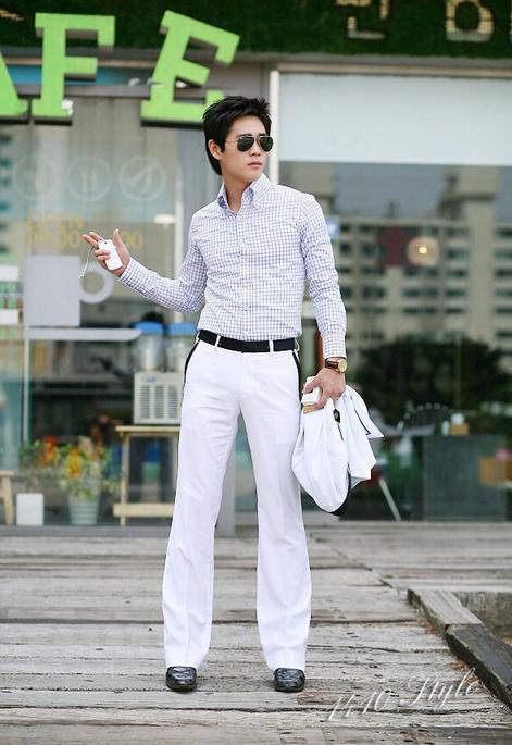 Мужские свободные брюки  - 2