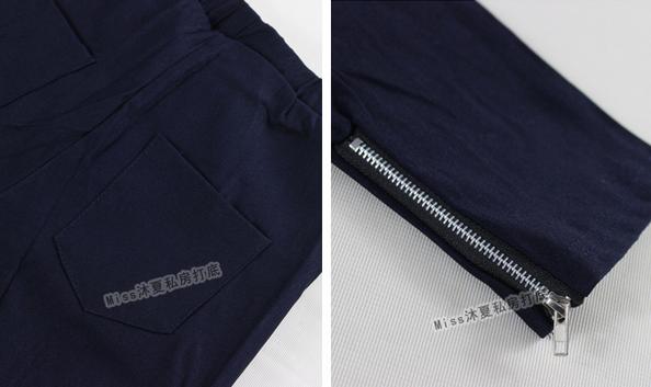 Новые брюки на молнии для женщин  - 3