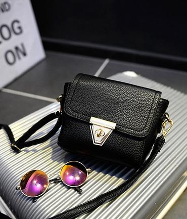Маленькая сумка посыльного сумка через плечо для женщин - 9