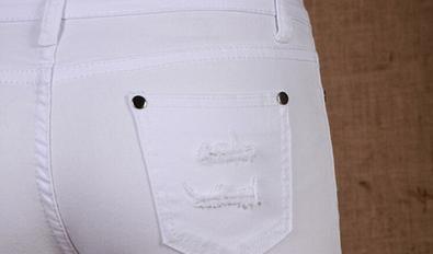 Сексуальные узкие джинсы для женщин  - 5