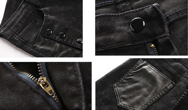 Весенние джинсы подростков для мужчин - 2