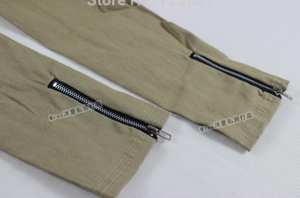 Новые брюки на молнии для женщин  - 4