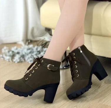 Европейские ботинки для женщин - 3