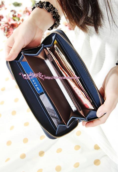 Модный дизайнерский кошелёк для женщин  - 9