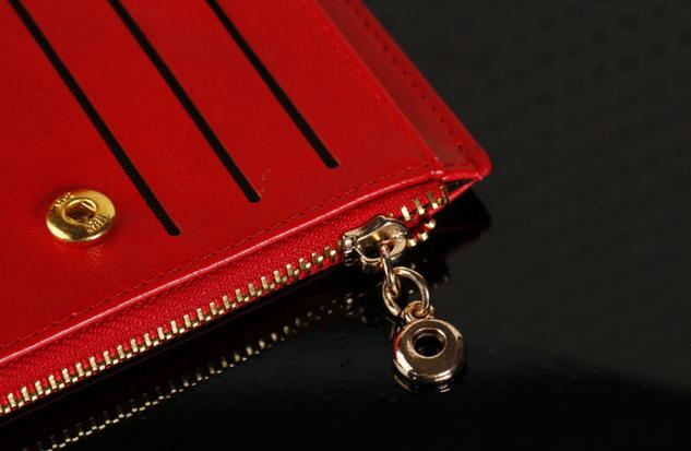 Модный тонкий кошелёк для женщин  - 7