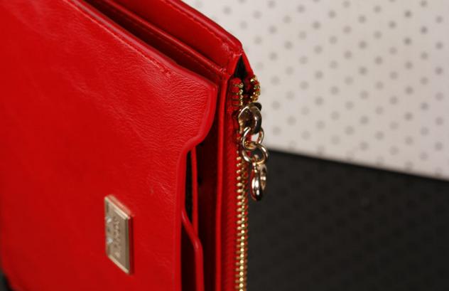 Модный тонкий кошелёк для женщин  - 11