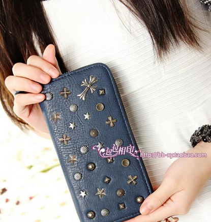 Модный дизайнерский кошелёк для женщин  - 4