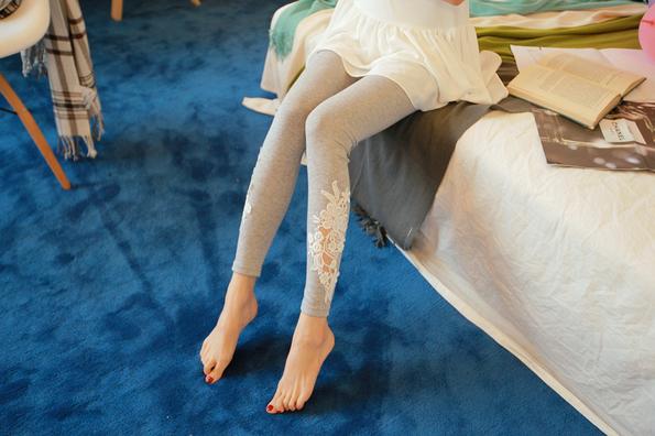 Летние тонкие кружевные брюки для женщин - 8