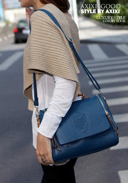 Новая бочкообразная сумка через плечо для женщин - 4