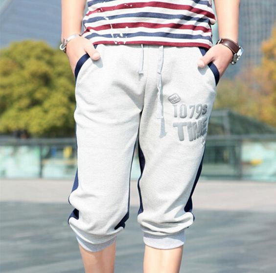 Простые удобные шорты для мужчин  - 1