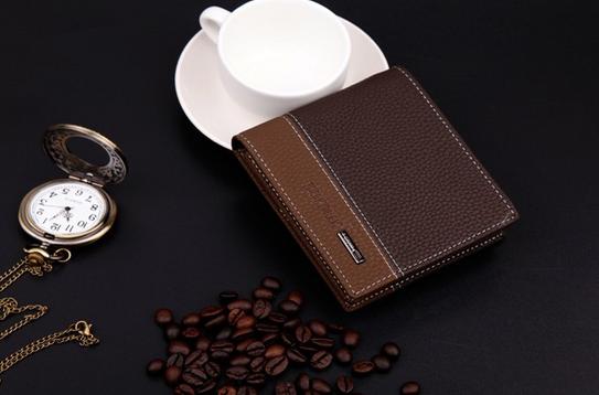Мужской короткий кошелёк для мужчин - 3
