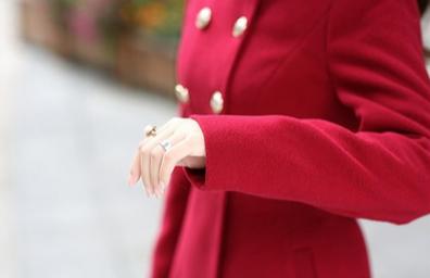 Новая зимняя осень, женское пальто  - 5