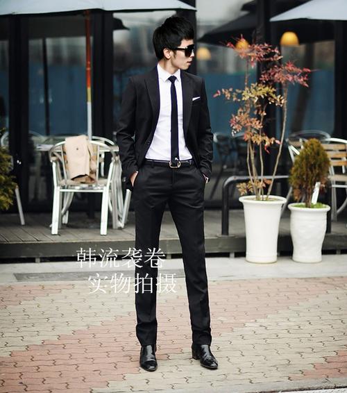 Стильные бизнес брюки для мужчин - 4