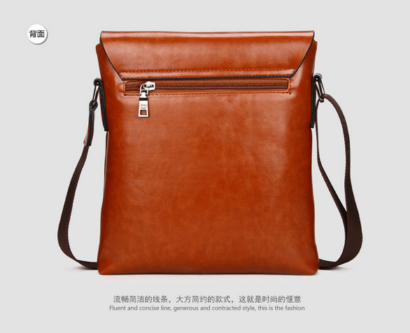 Модная брендовая сумка через плечо для мужчин  - 4