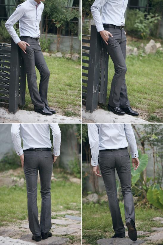 Мужские свободные тонкие брюки   - 12