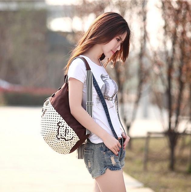 Новый женский рюкзак с краской  - 2
