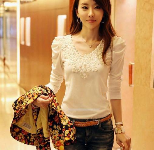 Милая элегантная блузка для женщин  - 4
