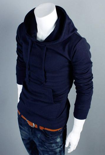 Спортивная толстовка пуловер для мужчин  - 1