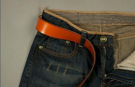 Модные тонкие джинсы карандаш для мужчин - 3