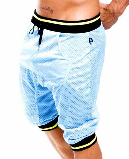 Эластичные шорты для мужчин  - 6