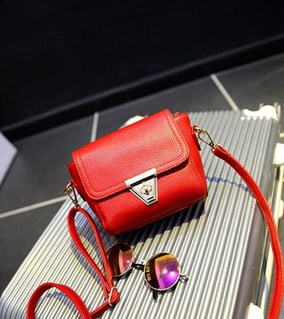 Маленькая сумка посыльного сумка через плечо для женщин - 7